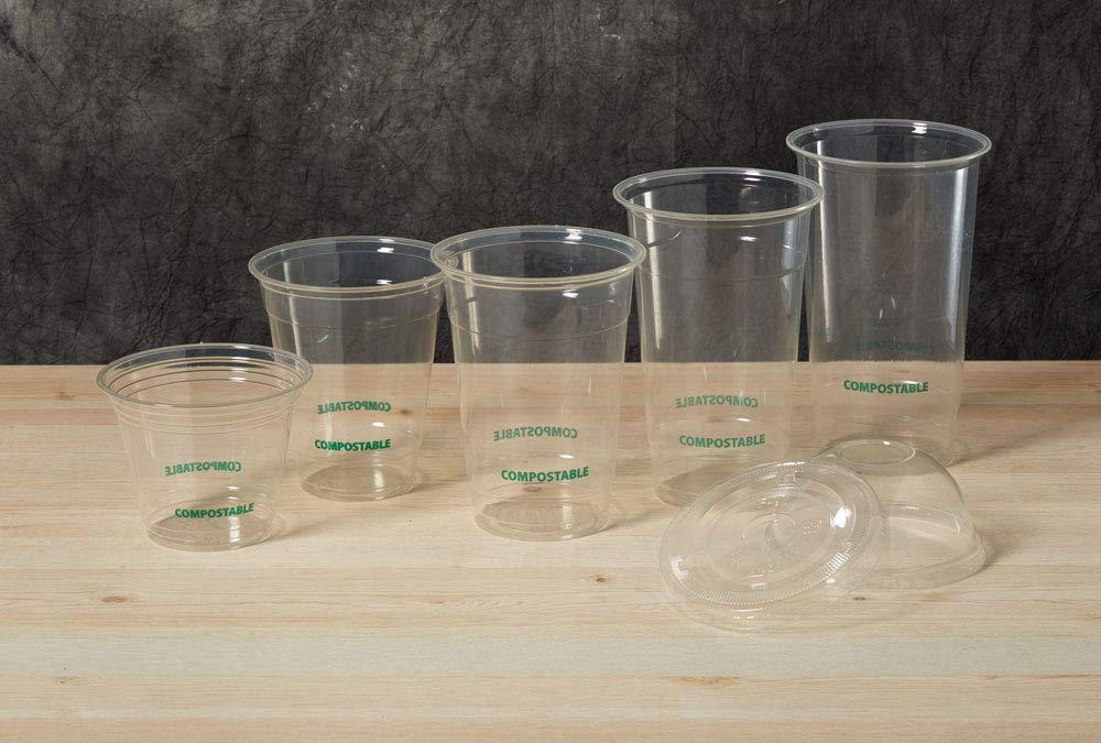 Eco Guardian 9 Ounce PLA Compostable Cold Cup, Clear, 1000 pack by Eco Guardian (Image #1)