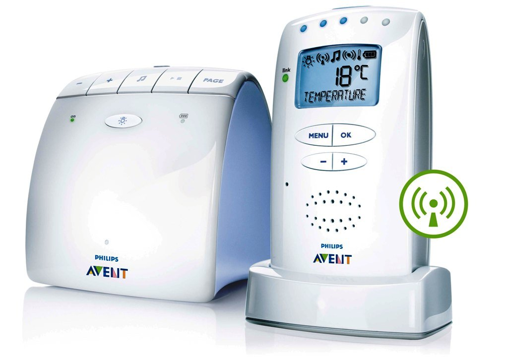 Philips Avent SCD525/00 Baby Monitor ECO DECT, Bianco product image