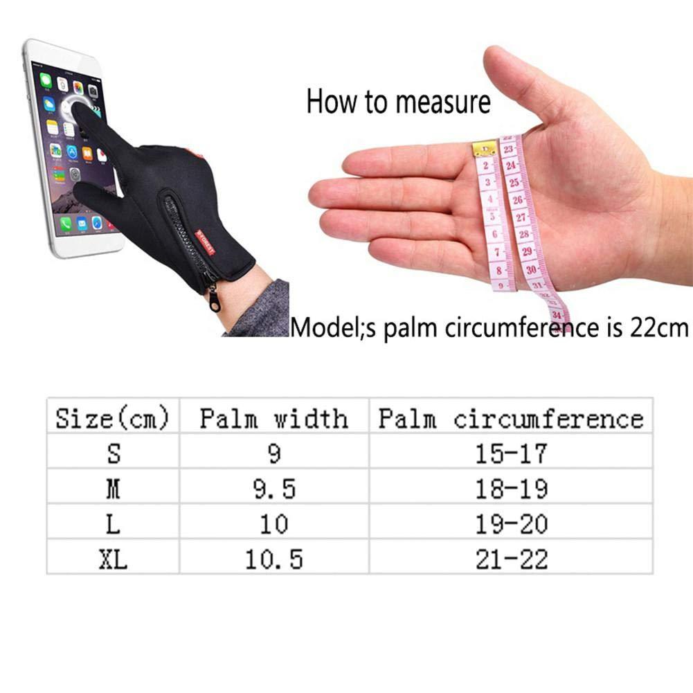 Chen0-super touch screen guanti antivento da sci ciclismo guanti per sport outdoor climbing Dress guida ciclismo moto camping etc