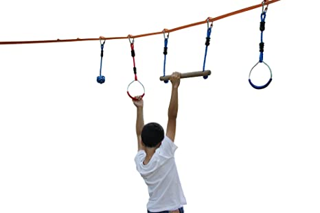 Amazon.com: Ninja Line Outdoor Obstacle Course Equipment ...
