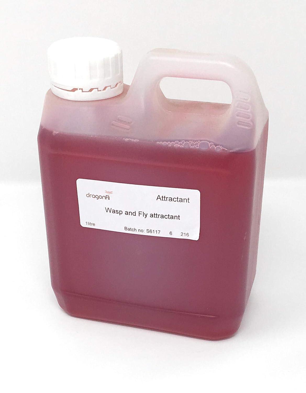 Dragonfli Wasp Trap Refill Liquid Bait Attractant (1 litre)