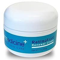 Retinol 3000 Renewal Cream Anti-Aging for Face | w/Jojoba, Hyaluronic Acid, Squalane...