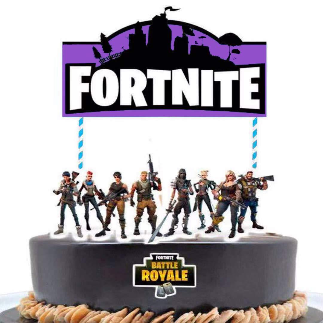 Amazon.com: Decoración para tarta de cumpleaños de 7 ...