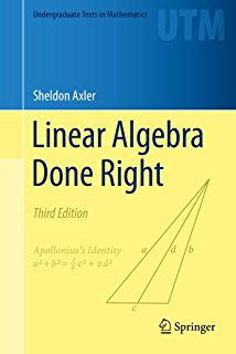 Linear algebra step by step 1 kuldeep singh amazon linear algebra done right undergraduate texts in mathematics fandeluxe Choice Image