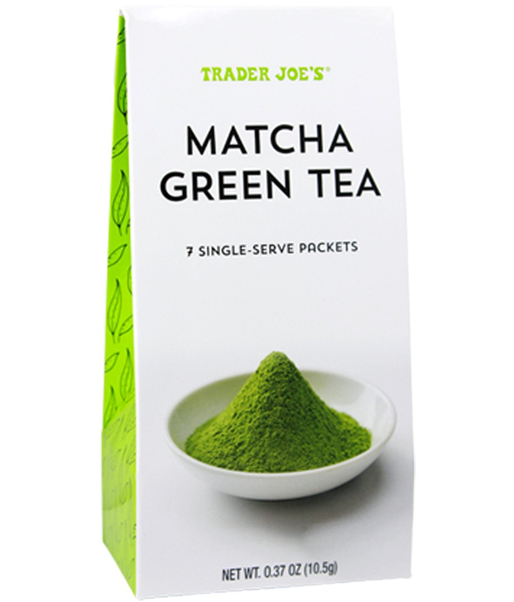 Trader Joe's Matcha Green Tea Powder 3 Pack (each with 7 Single Serve Packets) by Trader Joe's