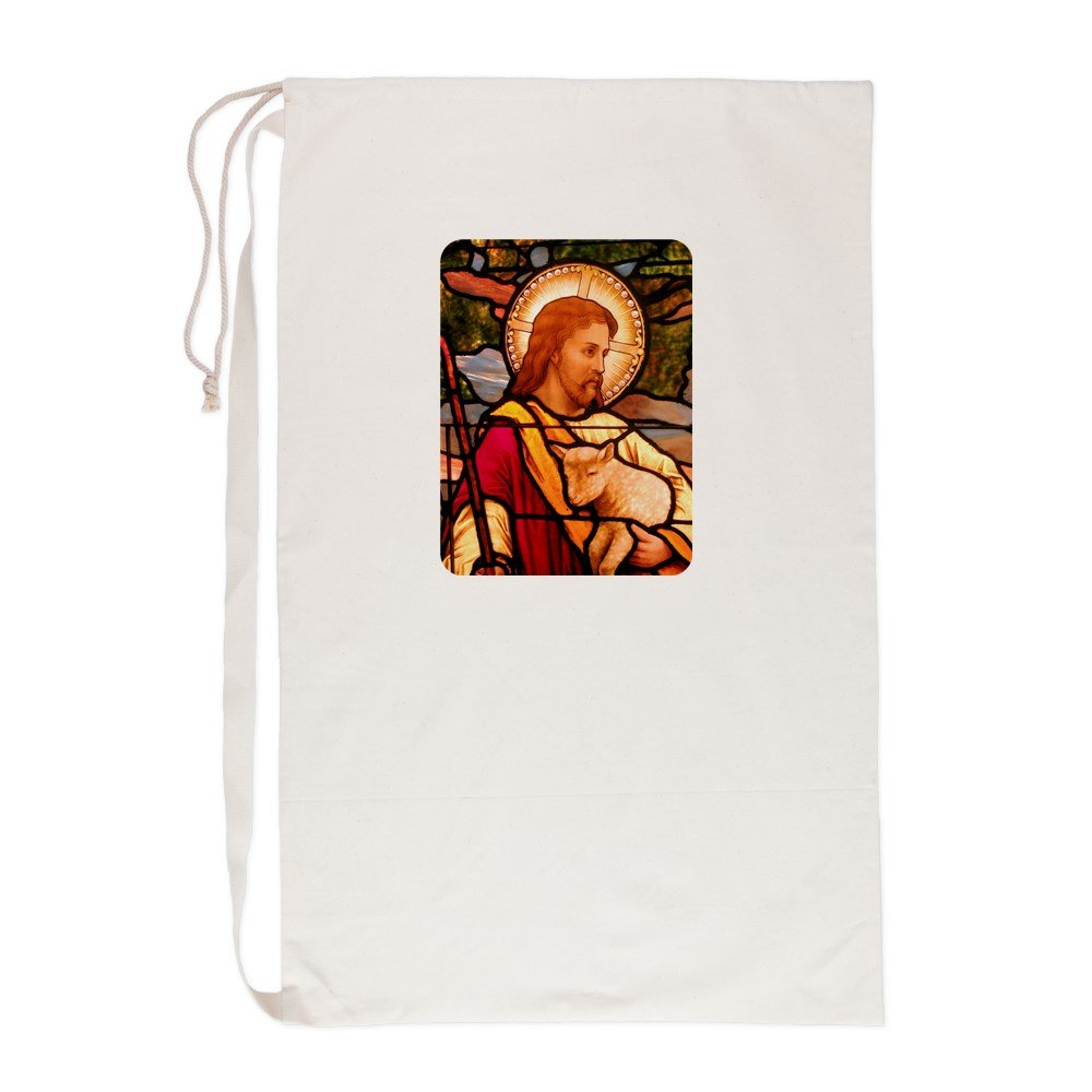 Laundry Bag Jesus Christ Lamb Stained Glass