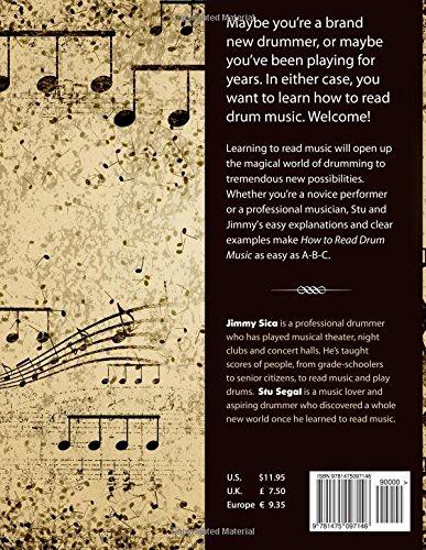 How To Read Drum Music: Stu Segal, Jimmy Sica: 9781475097146