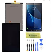LCD Screen Replacement and Digitizer Full Assembly for Samsung Galaxy Tab A 10.1 2016 T580 SM-T580 T585 T587 with…