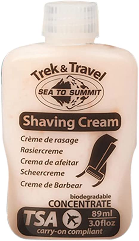 Sea to Summit de afeitar de crema: Amazon.es: Deportes y aire libre
