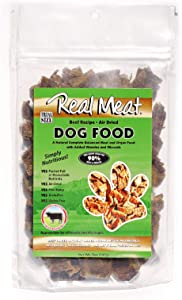 Real Meat 5oz Air-Dried Dog Food (Trial-Size), Beef