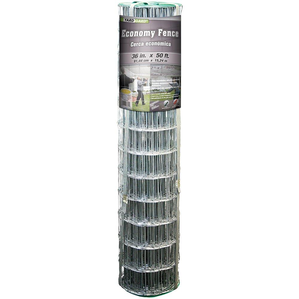 YARDGARD 308361B 36 inch 50 foot 16 Gauge Welded Wire Economy Fence