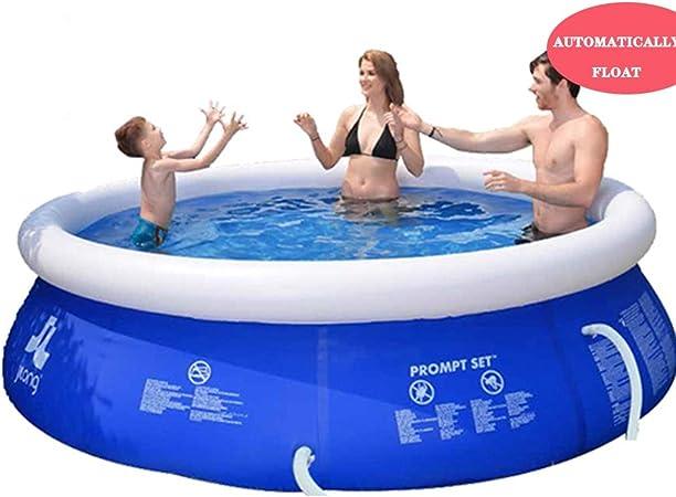 YUESFZ Piscinas hinchables Piscina Inflable Gruesa Al Aire Libre, Piscina Infantil para Adultos con Jardín para Niños, Piscina Flotante Redonda Al Aire Libre, Gran Capacidad para 1-9 Personas: Amazon.es: Hogar