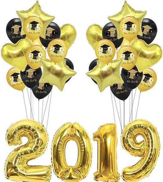 2019 Graduation Balloon Set Heart Balloons Graduations Party Supplies 2019