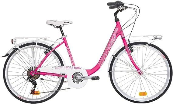 Bicicleta Trekking de mujer Atala Maggie, 7 velocidades, color ...