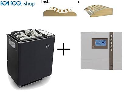 Sauna Horno BI de O de thermat 6 kW incl. H2 Impuestos de cuñas bonpool