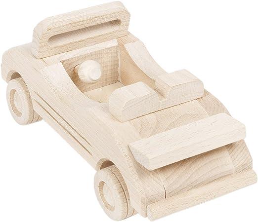 Holz Kabriolett Cabrio Spielzeug Auto Holzauto Holzspielzeug Kinderauto