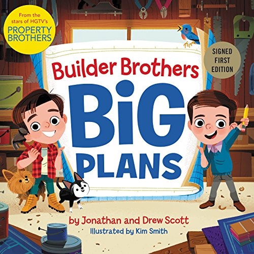 Builder Brothers: Big Plans - Signed / Autographed Copy