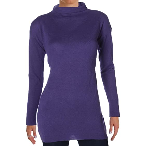 Amazon.com: Lauren Ralph Lauren Womens Cashmere Mock Turtleneck ...