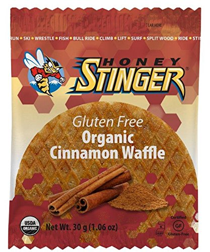 Stinger Organic Waffle, Cinnamon, 1 Ounce (16-Pack) (Cinnamon Organic Honey)