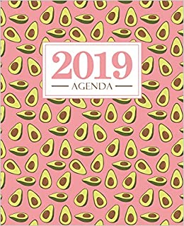 Amazon.com: Agenda 2019: 19x23cm : Agenda 2019 semainier ...