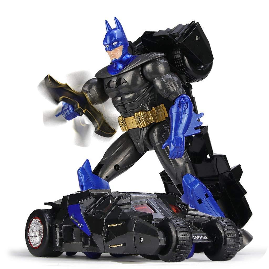 NYDZDM Kind Verformung Batman Auto Roboter Modell Toy Boy High-End Geschenk Verformung Auto Spielzeug Modell Geschenk