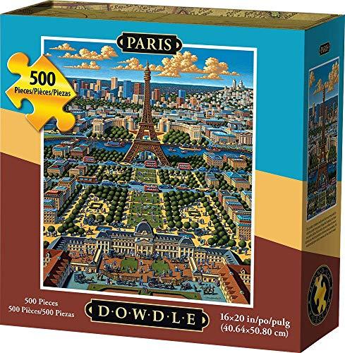 Dowdle Jigsaw Puzzle - Paris - 500 Piece