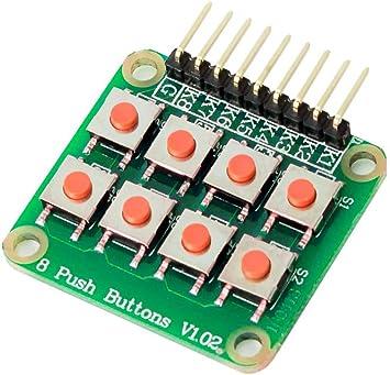MissBirdler Matrix - Teclado de 8 botones para Arduino