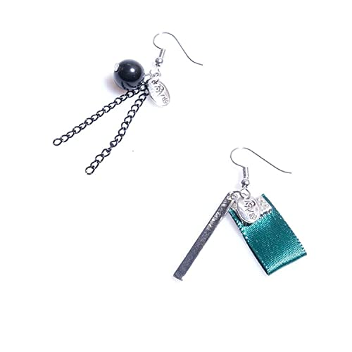 3a105f59e Amazon.com: DVANIS Jewelry Gothic Lolita Alloy Asymmetry Bead Cloth ...