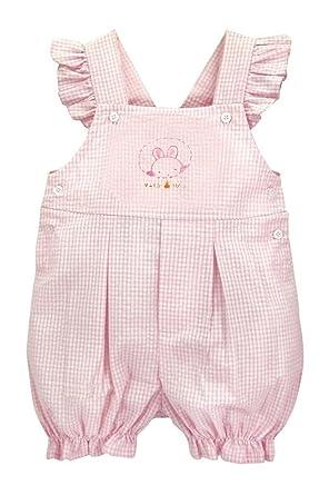 20180d1b0a1c Amazon.com  Bunnies by the Bay Peek a Boo Girls Romper 9-12M Pink ...