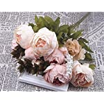 XIAOHESHOP-XHSP-1Bouquet-11-Heads-Artificial-Peony-Flower-Leaves-Home-Wedding-Party-Decor-Pink