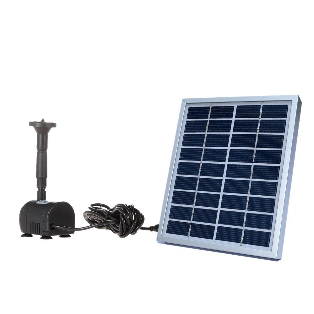 Solar-Powered Pump Brushless DC Solar Power Fountain Pool Water Pump Garden Plants Watering Kit solar pond pump kit