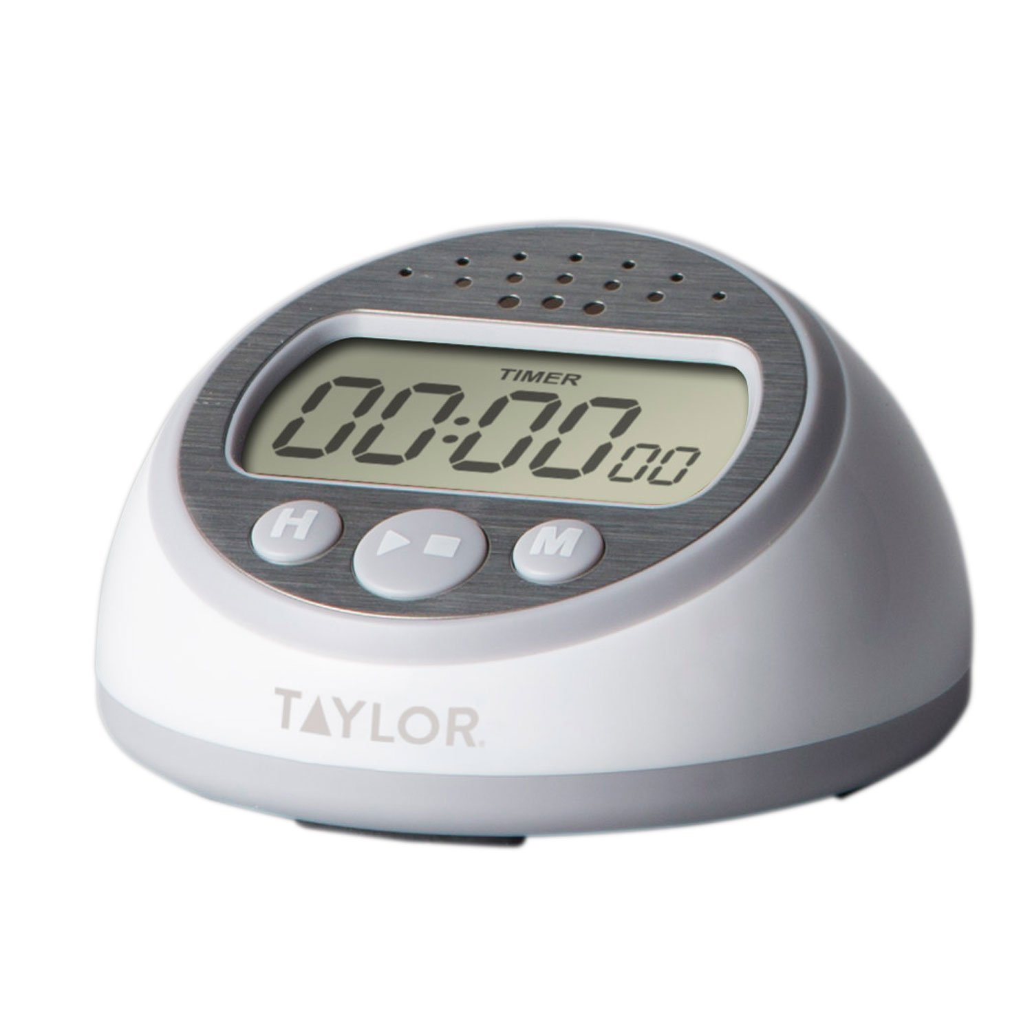 taylor precision products super loud timer gray