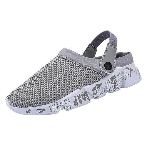 Moda Zapatillas Hombre,Btruely Herren Sandalias de Playa de Cutton de la Talla Grande Respirable cómoda cómoda de los Hombres: Amazon.es: Zapatos y ...
