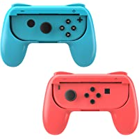 MoKo Grip for Switch/Switch OLED Model (2021) Joy-Con, 2-Pack [Ergonomic Design] Wear-Resistant Game Controller Handle…