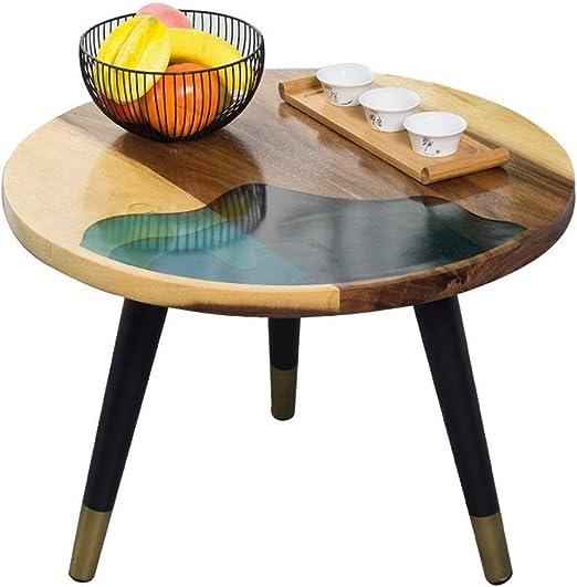 Sala de mesa de café Rústica Mesa moderna Mesa auxiliar Sofá ...
