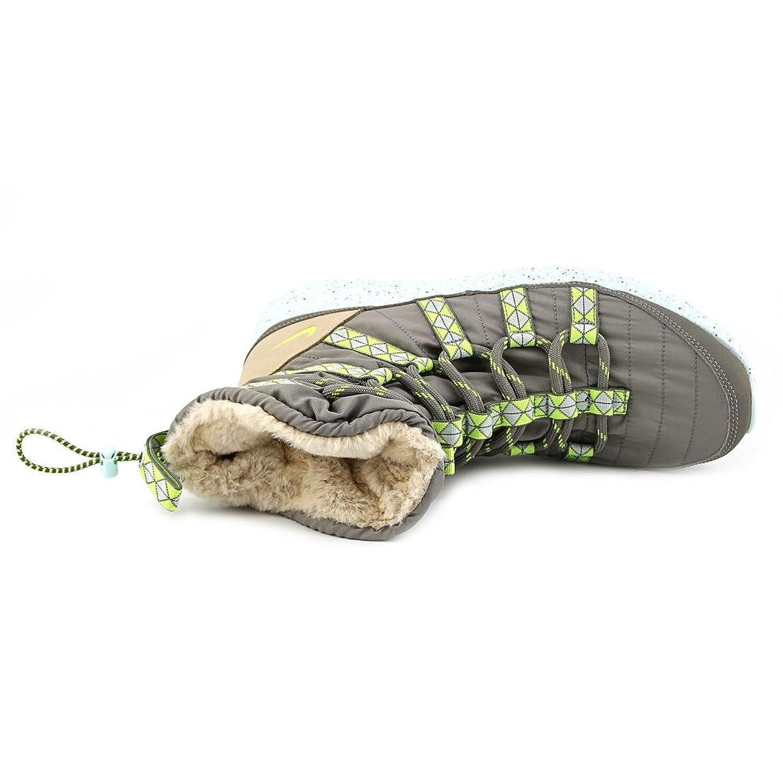 ugsye Nike Roshe Run Hi Sneakerboot Print Womens Gray Sneakers Shoes