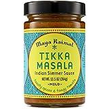 Maya Kaimal Tikka Masala Sauce, Mild Indian Simmer Sauce with Tomato and GaramMasala Spices. Vegetarian, Gluten Free, 12…