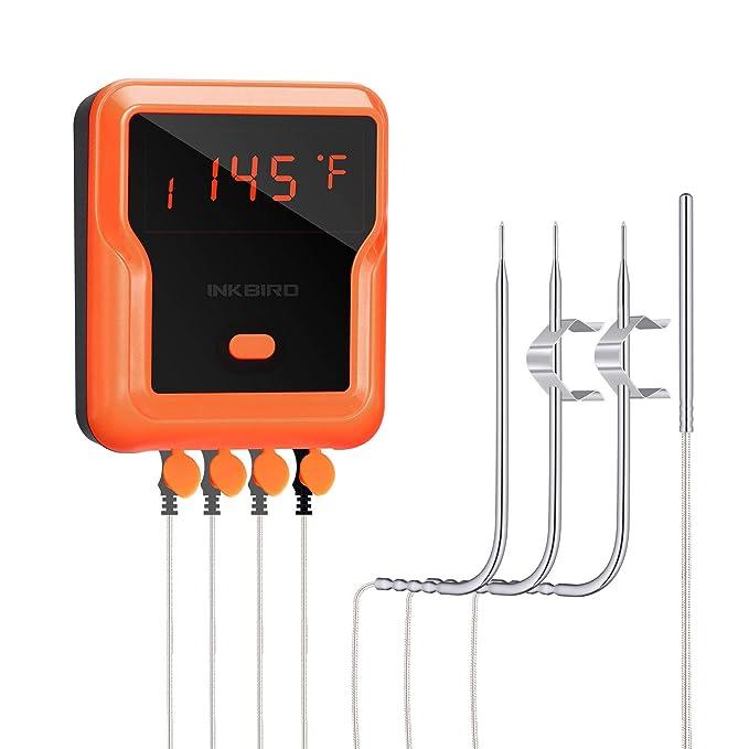 Inkbird IBT-4XP BBQ Thermometer – Best 4-Probe BBQ Thermometer