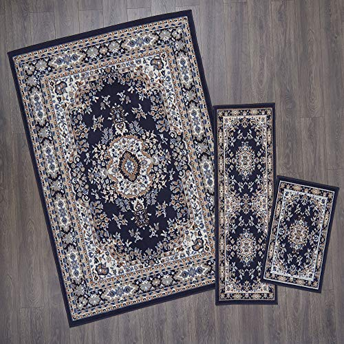 (Home Dynamix Ariana Ksara Area Rug 3 Piece Set (4'11