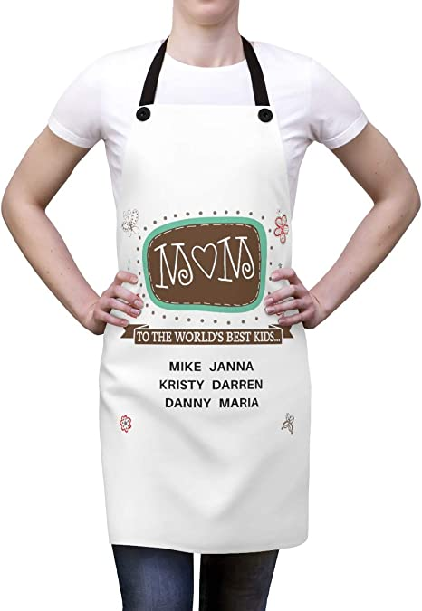 Apron for Men Gift for Mom New Home Gift Dog Apron Mother Daughter Apron Apron for Woman Personalized Apron Kitchen Gift Kids Apron
