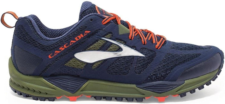 Brooks Cascadia 11 - Zapatillas de Entrenamiento Hombre, Azul ...