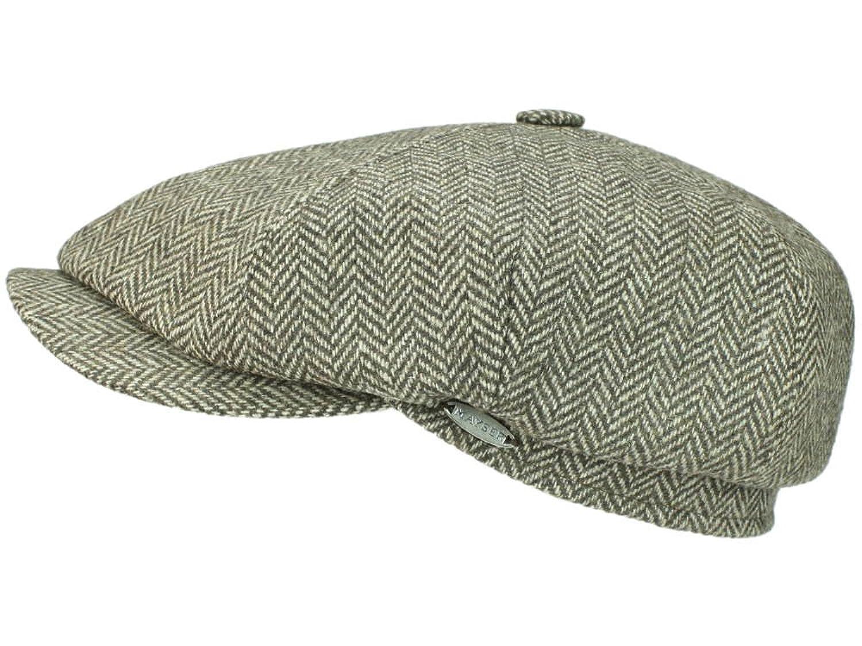 Mayser Seven Premium Ballonmütze Schirmmütze aus Wolle - beige