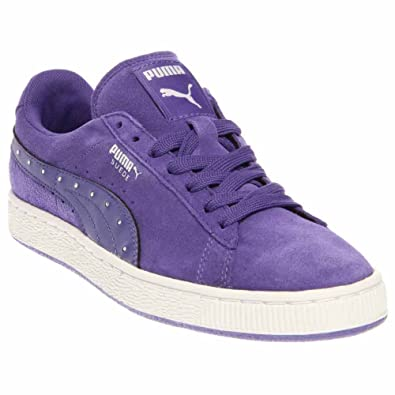 puma suede purple