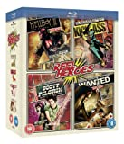 Reel Heroes-Hellboy 2/Wanted/Scott Pilgrim/Kick [Blu-ray]