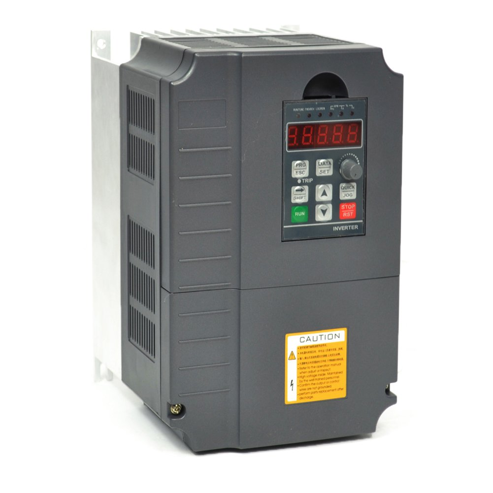 Cnc 75kw 7500w 220v 10hp 34a Variable Frequency Drive Inverter Baldor 3 Hp Motor Wiring Diagram Tags This Is Vfd For Spindle Speed Control