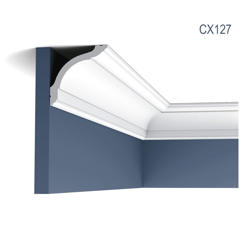Moulding Cornice Panel Moulding Stucco Decoration 2 m Orac Decor CX127 AXXENT