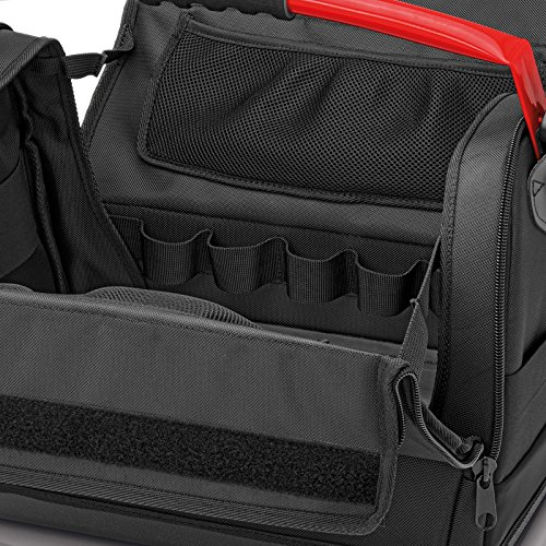 55ff3d3a872a Knipex 00 21 08 LE – tool bag made of polyester fabric with steel ...