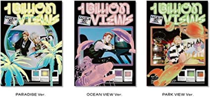 1st Full Album EXO-SC 1 Billion Views Photocard Set Pre Order Random ver. CD+Photobook+Folded Poster+Others with Extra Decorative Sticker Set