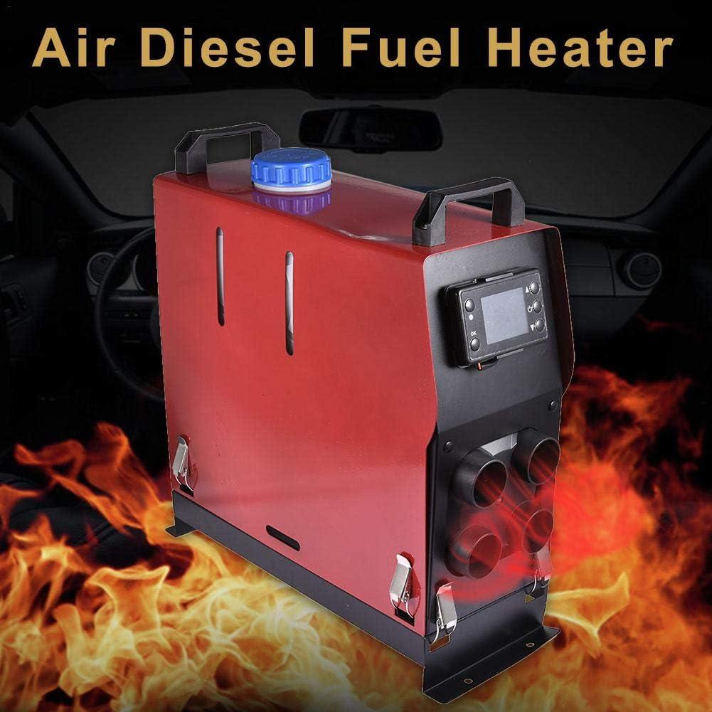 RV Autoautos mit Fernbedienung Leiyini 12V 24V5KW Luft-Dieselheizung,Parking Air Diesel Fuel Heater Set f/ür Vans PKW-Anh/änger