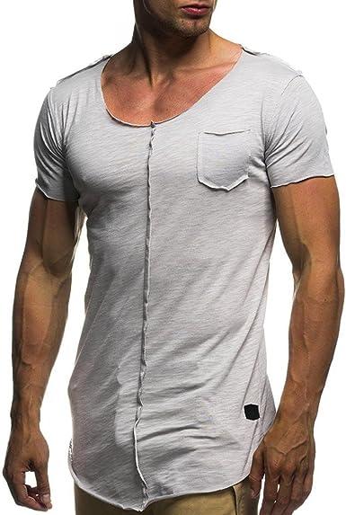 Camiseta para Hombre, ❤️Xinantime Blusa de Personalidad de ...